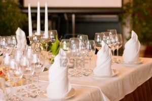 9010850-serving-luxury-glass-goblets-on-table-in-restaurant